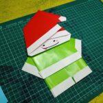 Duende de navidad en papel